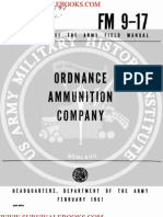 1961 Us Army Vietnam War Ordnance Ammunition Company 52p