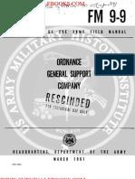 1961 US Army Vietnam War Ordnance General Support Company 80p