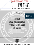 1961 US Army Vietnam War Tactical Signal Communication Systems ARMY, CORPS 83p