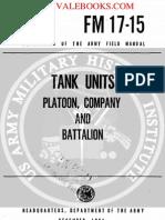 1961 US Army Vietnam War Tank Units Platoon Company & Battalion 298p