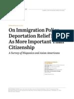 Pew Immigration Surveys, December 19, 2013