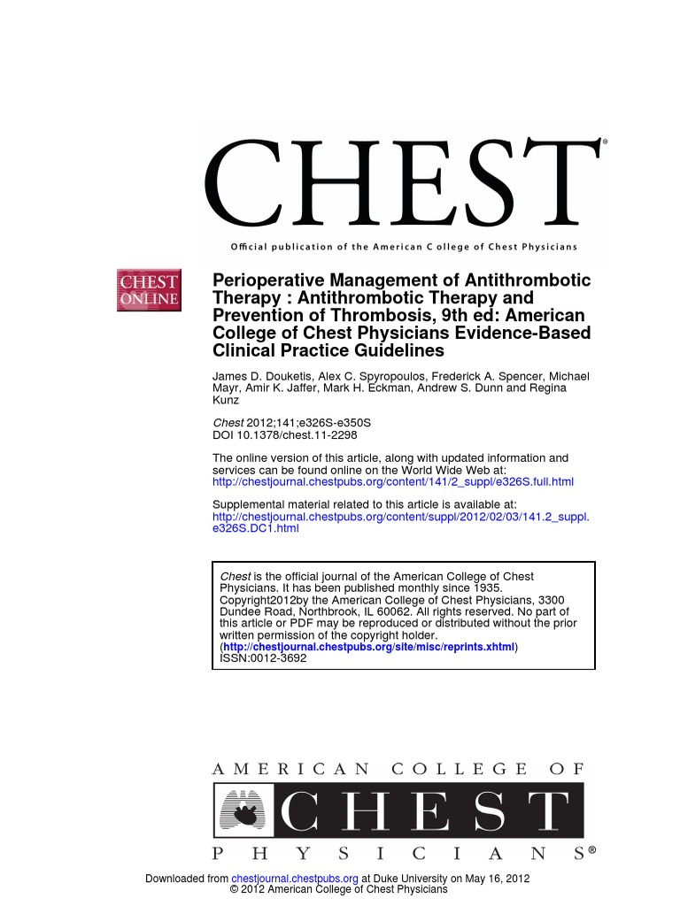 Perioperative managment of antithrombotic therapy_chest 2012141e326s e350s 1 stroke thrombosis