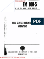1962 Us Army Vietnam War Field Servic Eregulations Operations 197p