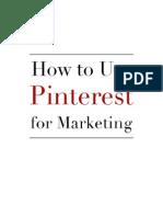 Pinterest Workshop Action Guide