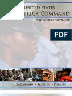 United States Africa Command 2009 Posture Statement