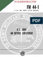 1962 US Army Vietnam War US Army Air Defense Employment 198p