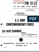 1963 US Army Vietnam War Army Counterinsurgency Forces 124p