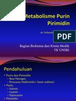 IT 11 - Metabolisme Purin Pirimidin - SUB