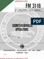 1963 US Army Vietnam War Counter Guerrilla Operations Counterinsurgency 126p