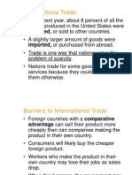 International Trade Barriers