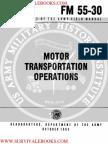 1963 US Army Vietnam War Motor Transportation Operations 77p