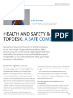 Health and safety & TOPdesk