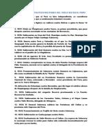 GDP.REVOLUCIONES POLÍTICO-MILITARES DEL SIGLO XIX EN EL PERÚ