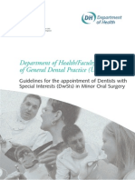 Dwsi Minor Oral Surg