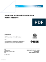 IEEE ASTM SI 10™-2010( April 2011 )