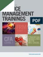 Finance Training Brochure Simplilearn