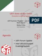 UPFS11 P1 UEFI Ecosystem Intel