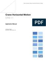 CFW-11 - Crane Horizontal Motion Application Manual R00 E 10001257504