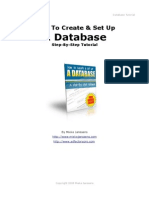 Database Tutorial
