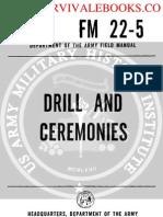 1964 US Army Vietnam War Cold War Drill and Ceremonies 331p