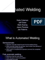 Final Automated Welding Presentation