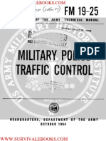 1964 US Army Vietnam War Military Police Traffic Control 203p
