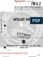 1965 US Army Vietnam War Artillery Survey 290p