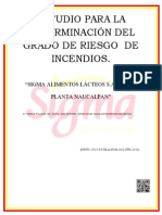127953576 Estudio Para La Determinacion Del Grado de Riesgo de Incendios de Crei Centro Regulador de Emergencias Industriales Reparado