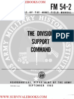 1965 US Army Vietnam War the Division Support Command 96p