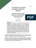 Efectividad en Gestion Publica 2.2