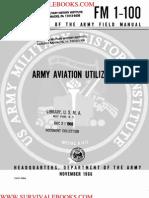 1966 US Army Vietnam War Army Aviation Utilization 85p