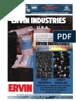 Granalla y Abrasivos Ervin Industries