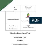 Minería y Desarrollo del Perú - Omar Rodríguez