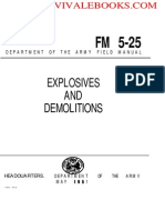1967 US Army Vietnam War Explosives and Demolitions 187p