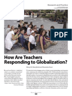 how are teachers responding to globalization