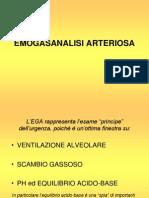 Emogasanalisi arteriosa