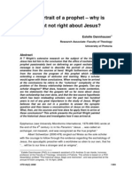 2008 - Estelle Dannhauser - The Portrait of a Prophet. Why is Wright Not Right About Jesus
