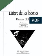 Llibre de les Bèsties_Ramon_Llull-BROMERA