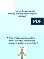 Tips for Writing Academic Paper
