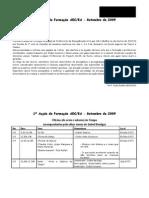 2009-09 Formação Setembro AEC / ESTC-MPIAEA