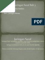 Presentasi Jaringan Saraf Bab 3