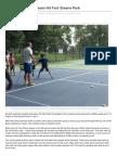 Tennis Lessons (7.9.13)