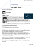 Top Ten Stupid Six Sigma Tricks_ #7 - Ouellette