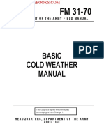 1968 US Army Vietnam War Basic Cold Weather Manual 203p