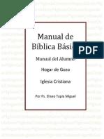 Manual de Biblica Basica