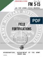 1968 US Army Vietnam War Field Fortifications 132p