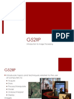 G52IIP Module Introduction