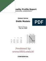 Contoh Full Report DiSC