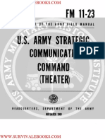 1969 US Army Vietnam War Strategic Communications Command Theater 114p