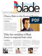 Washingtonblade.com, Volume 44, Issue 51, December 20, 2013